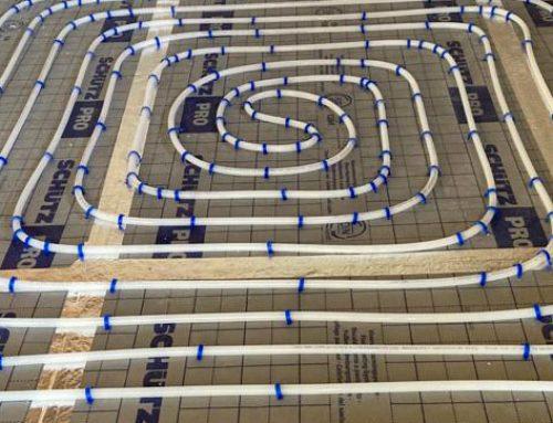 Instalación de suelo radiante en Benicássim